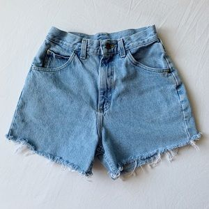 Vintage High-Waisted Lee Shorts